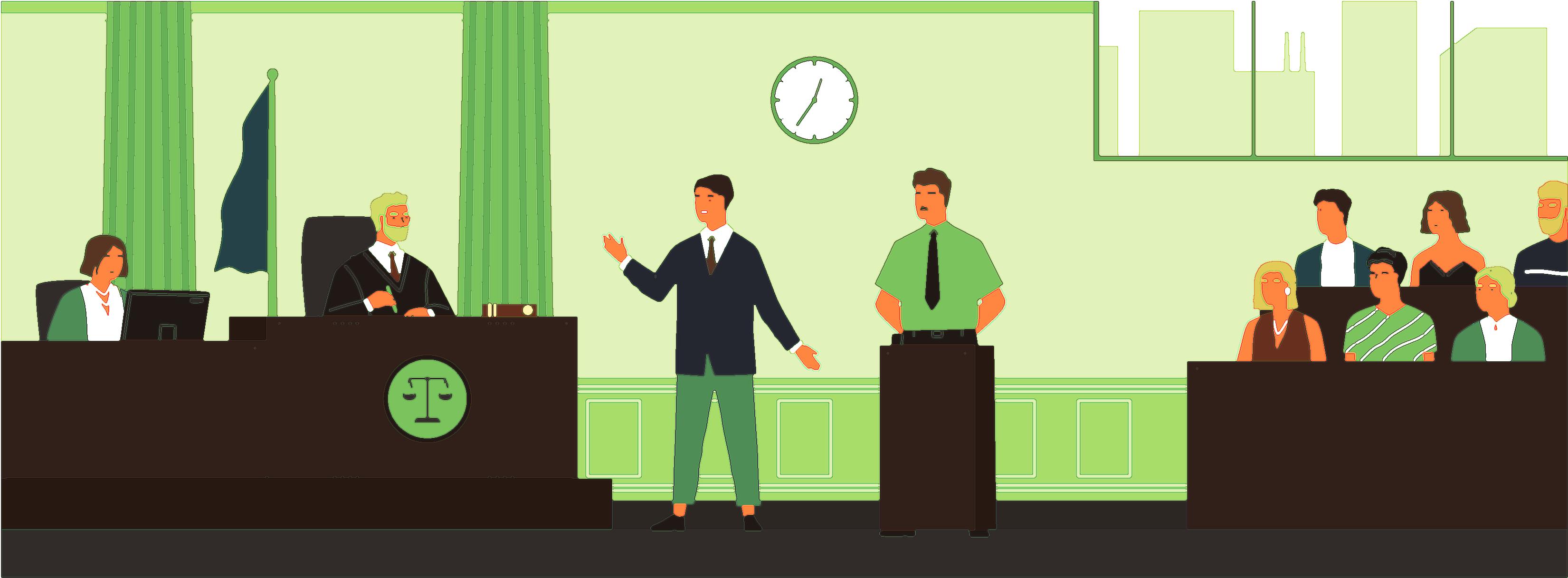решение суда, судебные юристы и адвокаты